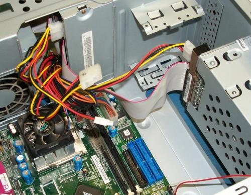 no wire to IDE conector